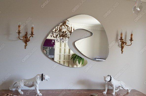 Découpe de miroir